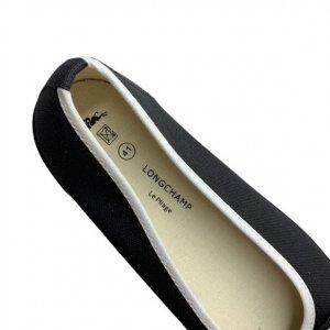 נעל בובה שחורה מבית LONGCHAMP 6