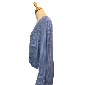 חולצה כחולה פסים - BCBG 3