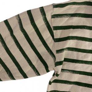קפוצ'ון עם פסים ירוקים - Armani Jeans 3