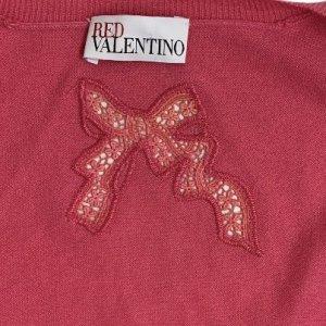קרדיגן קשמיר ורוד של RED VALENTINO 4
