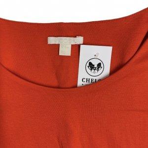 שמלה ארוכה אדומה כתומה - COS 4