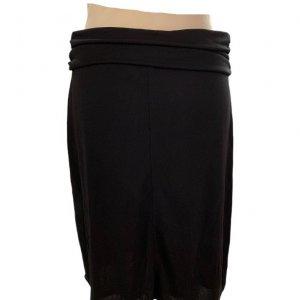 חצאית קצרה שחורה עם חגורה שחורה - DKNY 2