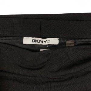 חצאית קצרה שחורה עם חגורה שחורה - DKNY 4