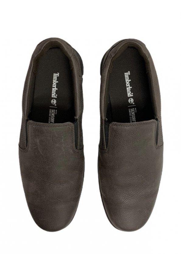 נעלי עור חומות לגבר - timberland 1