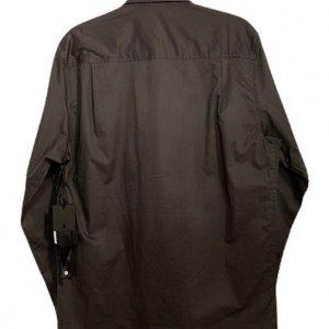 חולצה אפורה מכופתרת עם ווסט 2