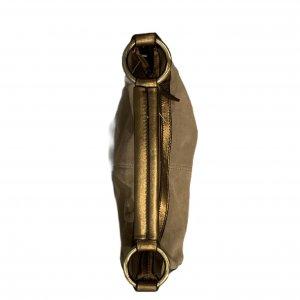 תיק עור חום בהיר זהב - The Limited 4