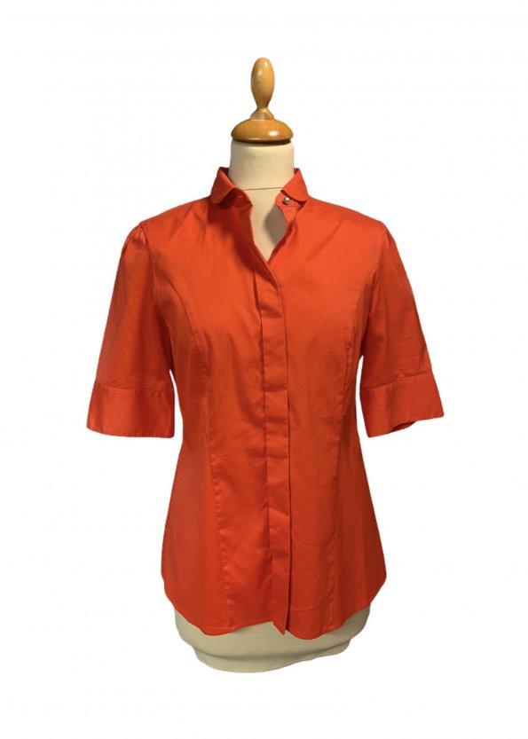 חולצה מכופתרת כתומה - BOSS 1