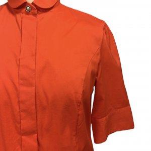 חולצה מכופתרת כתומה - BOSS 4