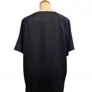 חולצה קצרה כחול כהה 2