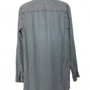 חולצה ארוכה מכופתרת בצבע ג׳ינס - G-Star RAW 2