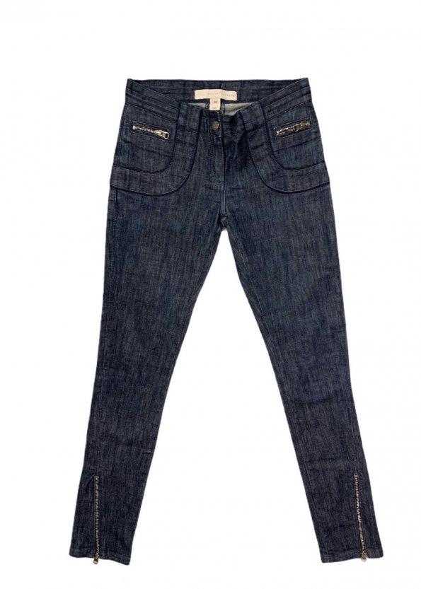Stella McCartney For H&M מכנס ג׳ינס כהה 1