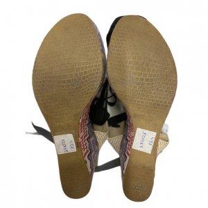 נעלי אספדריל עקב פלטפורמה עם קשירה 5