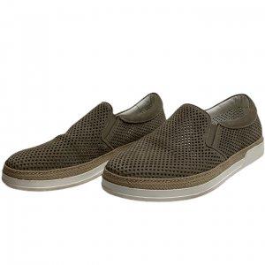קז'ואל בז' , slip-ons ,נעלי עור מבית Baldinini 2