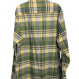 חולצה מכופתרת משבצות ירוק צהוב - Nautica 2