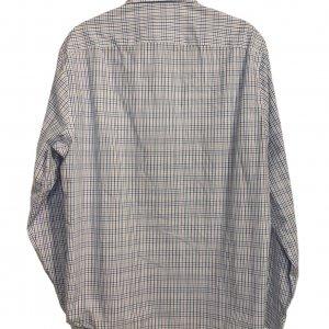 חולצה ארוכה מכופתרת כחולה משבצות - Michael Kors 2