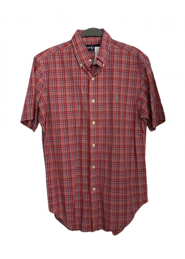 חולצה מכופתרת קצרה משבצות - Ralph Lauren 1