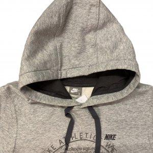 סווטשירט אפור כיתוב - Nike 3