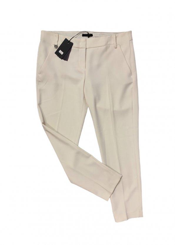 מכנסיים בצבע שמנת מחויטים מבית PINKO 1