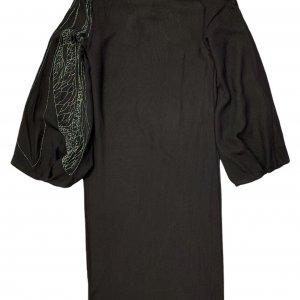 שמלת משי שחורה - Lanvin Paris 2