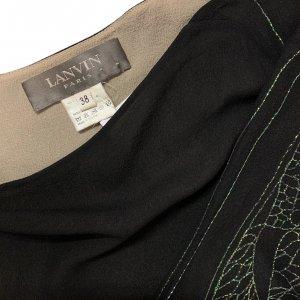 שמלת משי שחורה - Lanvin Paris 5
