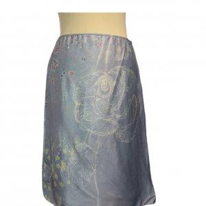 חצאית תכלת מידי - Armani 2