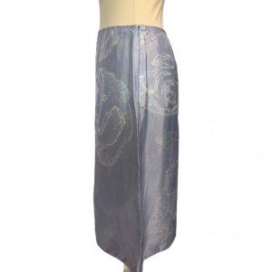 חצאית תכלת מידי - Armani 4