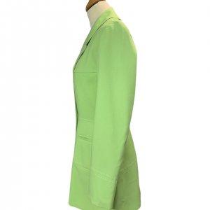ז׳קט מחויט ירוק בהיר וינטג׳ - UNIT 7 3