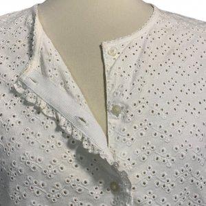 חולצה מכופתרת תחרה - Ralph Lauren 3