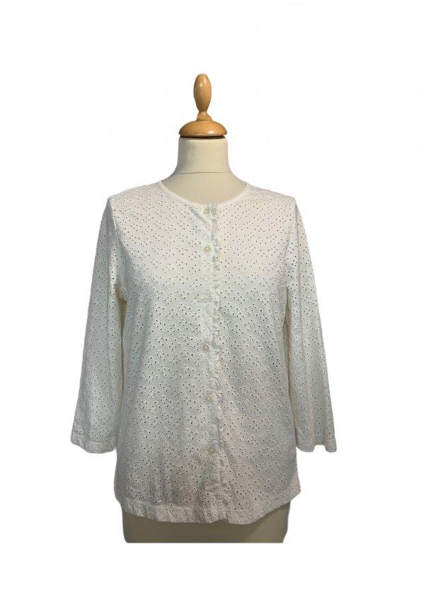 חולצה מכופתרת תחרה - Ralph Lauren 1