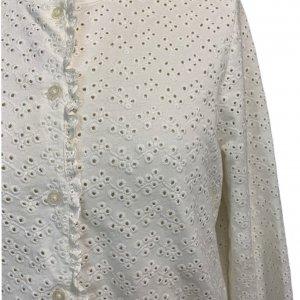 חולצה מכופתרת תחרה - Ralph Lauren 4