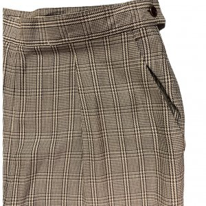 מכנסיים חומים בגזרה גבוהה מבית RALPH LAUREN 3