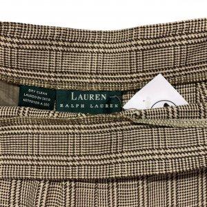 מכנסיים חומים בגזרה גבוהה מבית RALPH LAUREN 4