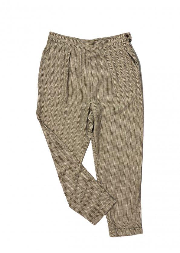 מכנסיים חומים בגזרה גבוהה מבית RALPH LAUREN 1