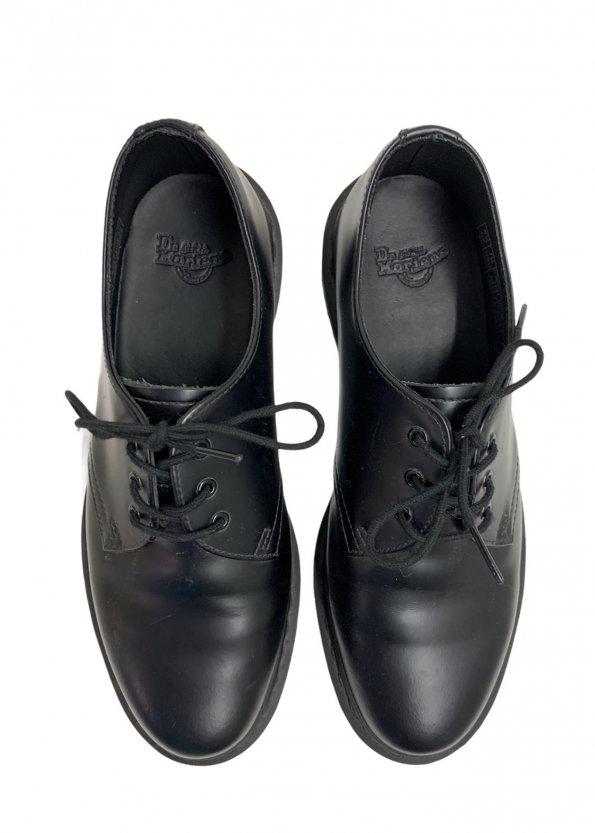 עור שחור Oxfords מבית Dr Martens 1