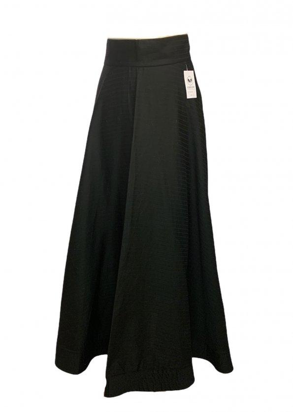 חצאית מקסי שחורה - MIZO 1