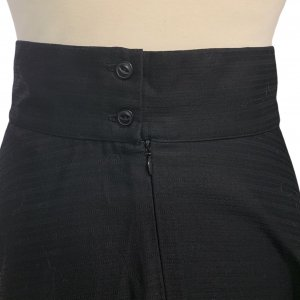 חצאית מקסי שחורה - MIZO 3