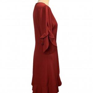 שמלת מעטפת אדומה - Lilamist 3