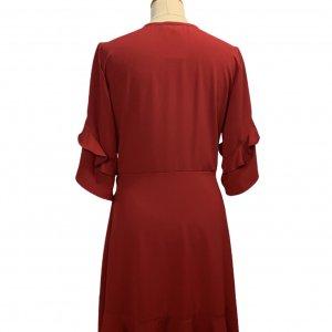 שמלת מעטפת אדומה - Lilamist 2