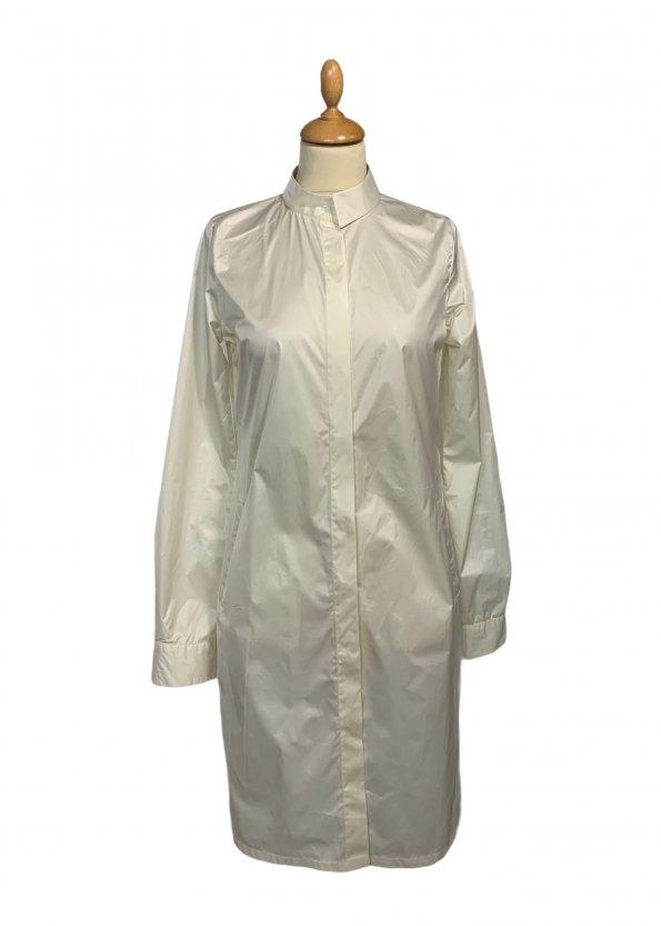 שמלה מכופתרת שמנת - Sharon Brunsher 1