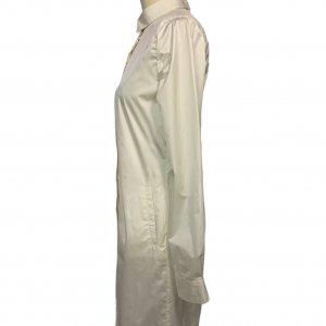 שמלה מכופתרת שמנת - Sharon Brunsher 3