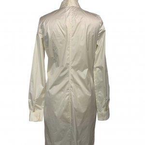 שמלה מכופתרת שמנת - Sharon Brunsher 2