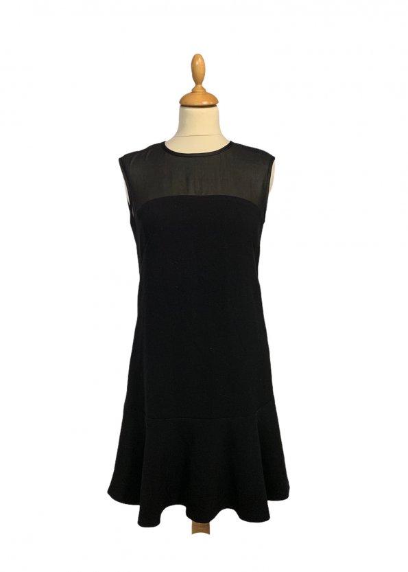 שמלה שחורה קצרה - Benetton 1