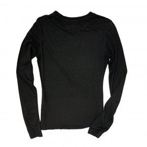 טי שירט ארוכה שחורה, הדפס Adidas צבעוני 2