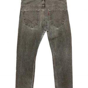 מכנס ג׳ינס ארוך אפור לגבר 2