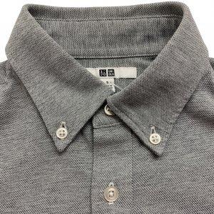 חולצה ארוכה אפורה עם כפתורים שקופים וכיס מקדימה 3