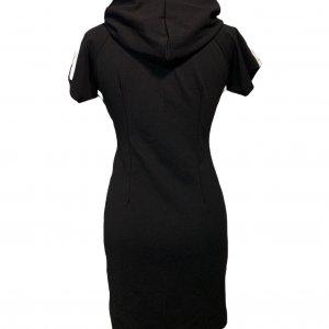 שמלה קצרה שחורה קפוצון ריצרץ 2
