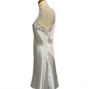 שמלת קומבניזון לבן פנינה 3