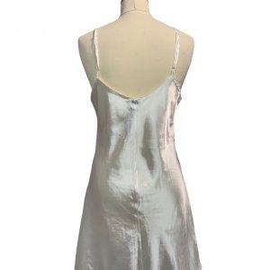 שמלת קומבניזון לבן פנינה 2