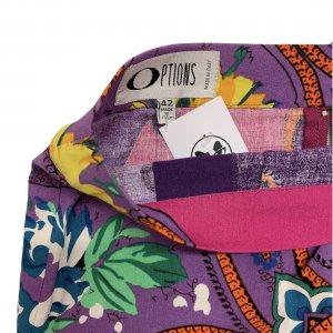 חצאית מעטפת סגולה עיטורים 5