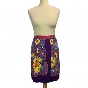 חצאית מעטפת סגולה עיטורים 4